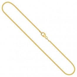 Goldkette, Venezianerkette Gelbgold 750/18 K, Länge 50 cm, Breite 1.2 mm, Gewicht ca. 6 g, NEU - 1