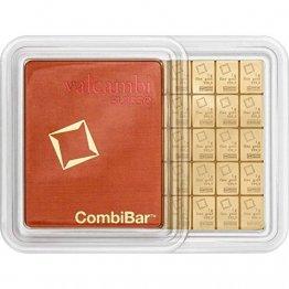 1 Gramm Gold 1 gr Goldbarren Barren Feingold 999,9 Valcambi Suisse - 1