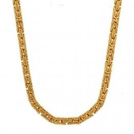 2,3 mm 45 cm 585-14 Karat Gelbgold Königskette massiv Gold hochwertige Halskette 20,2 g - 1