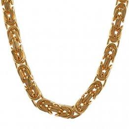 2,8 mm 55 cm 585-14 Karat Gelbgold Königskette massiv Gold hochwertige Halskette 32 g - 1