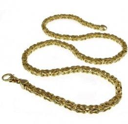 3mm Königskette 70cm - 585 Gold Gelbgold - 1