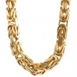 4,0 mm 60 cm 585-14 Karat Gelbgold Königskette massiv Gold hochwertige Halskette 69,8 g - 1