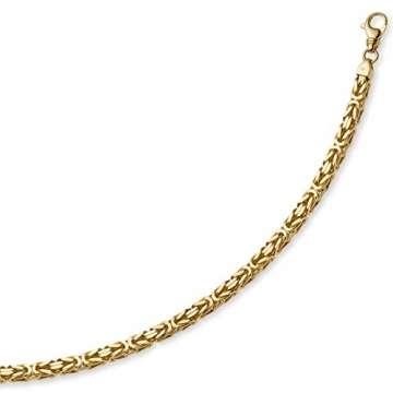 7mm Königskette aus 750 Gold Gelbgold Kette Halskette 70cm Herren - 3