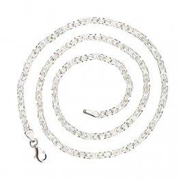 925 Silberkette: Königskette Silber 3,5mm und 55cm - KK-35-55 - 1
