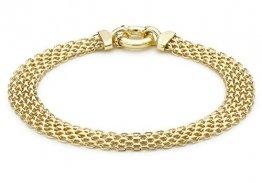 Carissima Gold Damen - Armband 375 Rundschliff einfach 1.20.8042 - 1