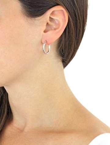 Carissima Gold Damen - Ohrringe 18 k (750) Rundschliff Diamant 7.53.8419 - 4