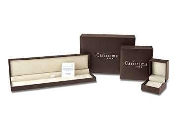 Carissima Gold Damen - Ohrringe 18 k (750) Rundschliff Diamant 7.53.8419 - 6