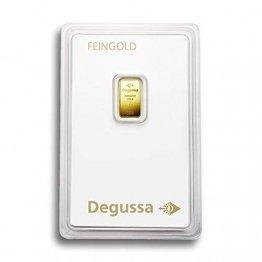 Degussa 1g Goldbarren 999.9 Blister - 1
