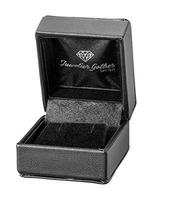 Diamant Ohrstecker 0,50 ct Lupenrein 585 14 Kt Weißgold Klassische 6er Krappen Fassung Brillant Schliff - 3
