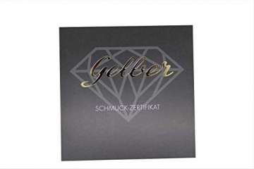 Diamant Ohrstecker 0,50 ct Lupenrein 585 14 Kt Weißgold Klassische 6er Krappen Fassung Brillant Schliff - 5