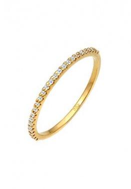 DIAMORE Ring Damen Geo Microsetting mit Diamant (0.25 ct.) in 585 Gelbgold - 1
