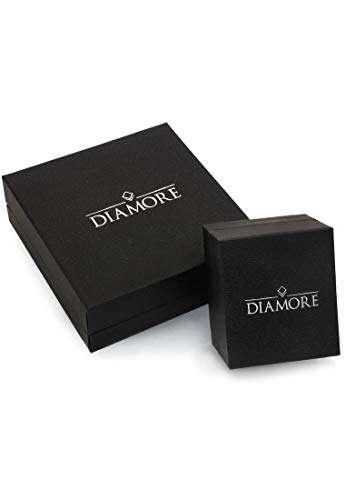 DIAMORE Ring Damen Geo Microsetting mit Diamant (0.25 ct.) in 585 Gelbgold - 4