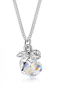 Elli Halskette Damen Engel mit Swarovski® Kristall in 925 Sterling Silber - 1