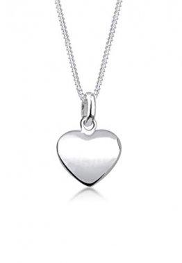 Elli Halskette Damen Herz Anhänger Filigran in 925 Sterling Silber - 1