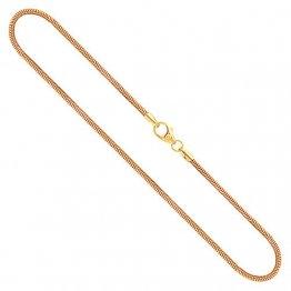Goldkette, Schlangenkette Gelbgold 585/14 K, Länge 42 cm, Breite 1.6 mm, Gewicht ca. 5.5 g, NEU - 1