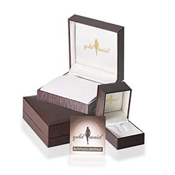 Goldmaid Damen-Ring Verlobung 585 Weißgold Diamant (0.18 ct) weiß Brillantschliff Gr. 58 (18.5)-Pa R7437WG58 Verlobungsring Diamantring - 2