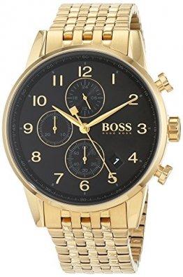 Hugo Boss Herren Quarz Uhr mit Armband 1513531 - 1