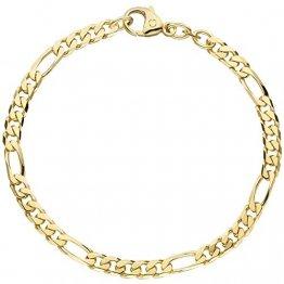 JOBO Damen-Armband aus 585 Gold 21 cm - 1