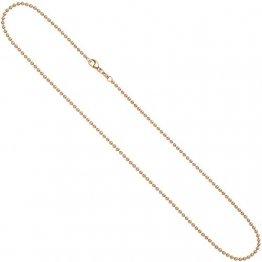 JOBO Damen-Kugelkette aus 585 Rosegold 42 cm 2,0 mm - 1
