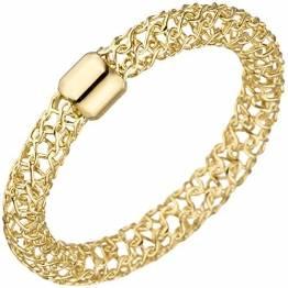 JOBO Damen-Ring aus 750 Gold Größe 52 - 1