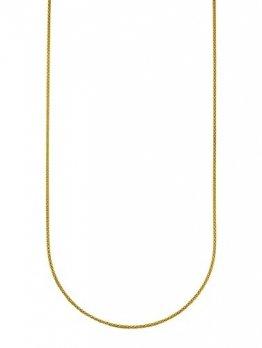 KLiNGEL Damen 925 Silber Kette in Gelbgoldfarben - 1