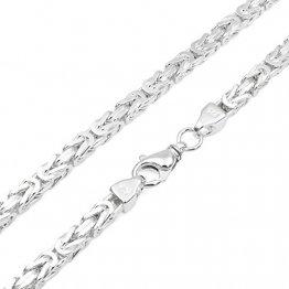 Königskette 7mm 925 Silber massiv - Länge Wählbar - Collier Halskette oder Armband (50) - 1