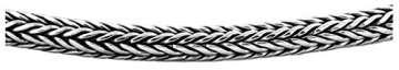 KUZZOI massive 925 Sterling Silber Königskette Herren Halskette, Dicke 5mm, Länge 50 cm, mit Schmuckbox - 345051-050 - 5