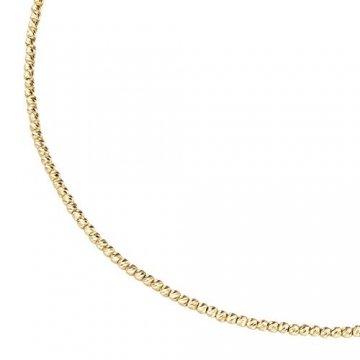 Luigi Merano Kette Mit Facettierten Kugeln, Gold 585 Gold, 45 Cm 585 Gelbgold - 1