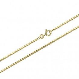 NKlaus 60cm Venezia Goldkette 0,9mm 333 Gelbgold 8 Karat Venezianerkette Collier 3,10g 9318 - 1