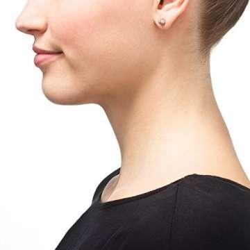 Ohrring Kugel Rose Gold 585 Kugel Ohrstecker Rosegold Rotgold Damen Ohrringe 6,00mm 421.00067.1 - 2