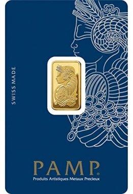 Pamp Suisse 5g Goldbarren Fortuna 999.9 Gold Blister Echtgold - 1
