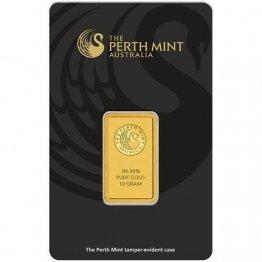 Perth Mint 10g Gramm Goldbarren 999.9 Känguru Kangaroo Blister - 1