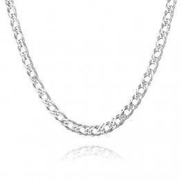 STERLL Herren Silberkette Silber 925 60cm Ohne Anhänger Geschenkverpackung Männer Geschenke - 1