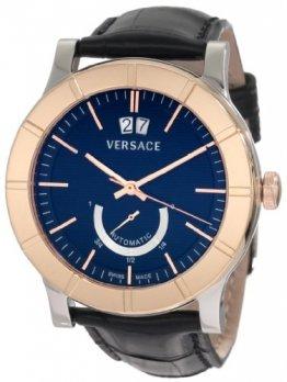 Versace Acron Big 18A99OD009 S009 18K Rose Gold & Steel Automatic Men's Watch - 1