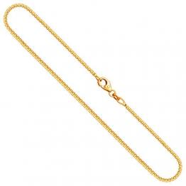 Goldkette, Venezianerkette Gelbgold 585/14 K, Länge 50 cm, Breite 1.5 mm, Gewicht ca. 7 g, NEU - 1