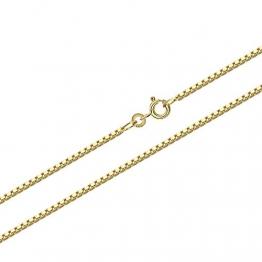 NKlaus 50cm Goldkette 1,2mm Venezia 333 Gelbgold 8 Karat Venezianerkette Collier 3,80g 9324 - 1