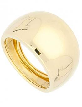 Ring Gelbgold 585 Gold (14 Karat) Schlicht Gr. 58 Damenring Breit 14mm Goldring 3,25gr Wilshere R-06062-G401-W58 - 1