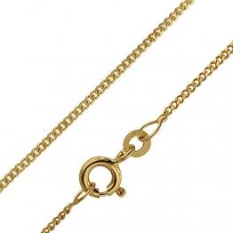 trendor Goldkette für Kinder 333 Gold (8 Karat) Panzerkette 38/36 cm diese Goldkette ist ein Schmuckstück für Kinder, schöne Geschenkidee, Echtgold, 72016 - 1