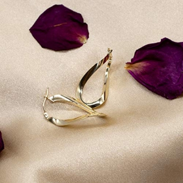 Carissima Gold Damen - Ohrringe 18 k (750) Rundschliff Diamant 7.53.9099 - 2