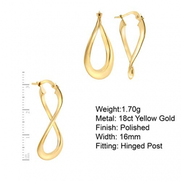 Carissima Gold Damen - Ohrringe 18 k (750) Rundschliff Diamant 7.53.9099 - 4