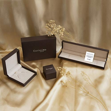 Carissima Gold Damen - Ohrringe 18 k (750) Rundschliff Diamant 7.53.9099 - 6