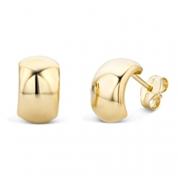 Miore Ohrringe Damen Gelbgold 14 Karat / 585 Gold Ohrstecker - 1